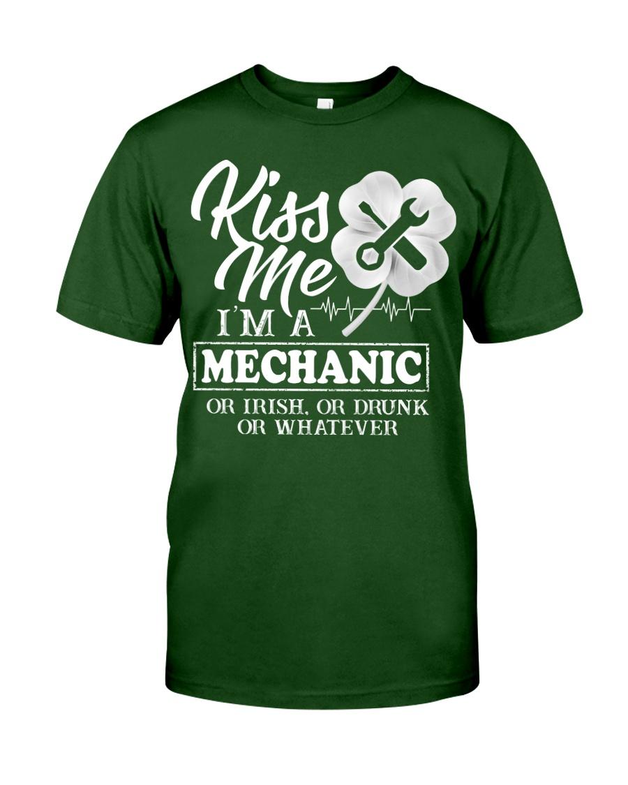 Kiss me i'm a Mechanic Classic T-Shirt