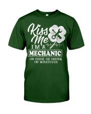 Kiss me i'm a Mechanic Classic T-Shirt front