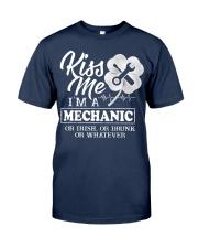 Kiss me i'm a Mechanic Classic T-Shirt tile