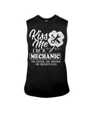 Kiss me i'm a Mechanic Sleeveless Tee thumbnail