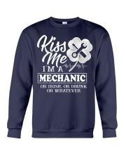 Kiss me i'm a Mechanic Crewneck Sweatshirt thumbnail