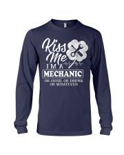 Kiss me i'm a Mechanic Long Sleeve Tee thumbnail