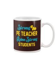 Strong Pe Teacher raise strong students Mug thumbnail