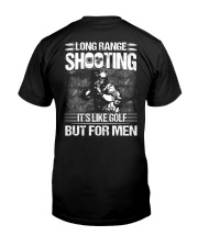 Long Range Shooting It's Like Golf  Classic T-Shirt back