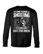 Long Range Shooting It's Like Golf  Crewneck Sweatshirt thumbnail