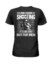Long Range Shooting It's Like Golf  Ladies T-Shirt thumbnail