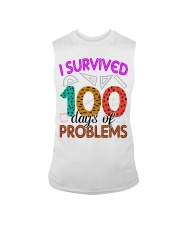 I SURVIVED 100 DAYS OF PROBLEMS Sleeveless Tee thumbnail