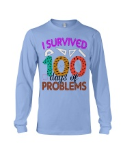 I SURVIVED 100 DAYS OF PROBLEMS Long Sleeve Tee thumbnail