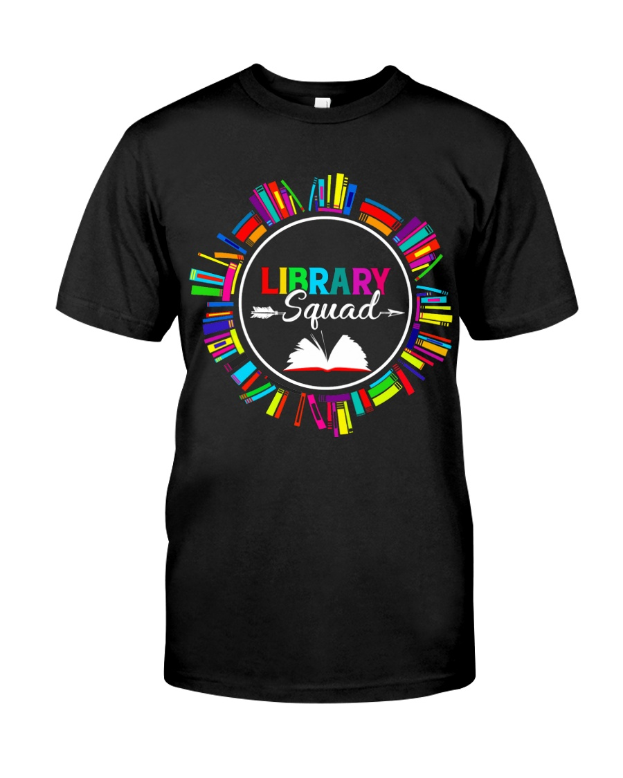 Library Squad Classic T-Shirt
