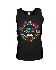 Library Squad Unisex Tank tile