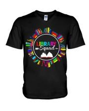 Library Squad V-Neck T-Shirt thumbnail