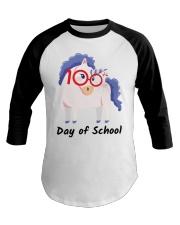 100th Day Of School Baseball Tee thumbnail