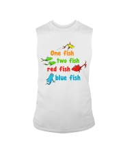 One fish two fish red fish blue fish Sleeveless Tee thumbnail