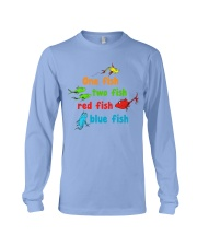 One fish two fish red fish blue fish Long Sleeve Tee thumbnail
