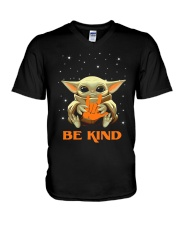 BE KIND V-Neck T-Shirt tile