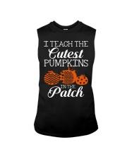 I Teach the cutest pumpkins in the patch Sleeveless Tee thumbnail