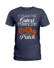 I Teach the cutest pumpkins in the patch Ladies T-Shirt thumbnail