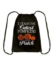 I Teach the cutest pumpkins in the patch Drawstring Bag thumbnail