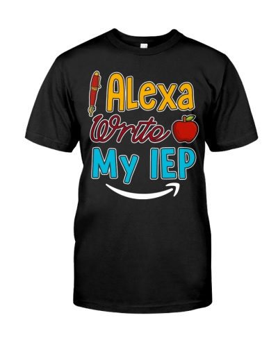 Alexa write my IEP