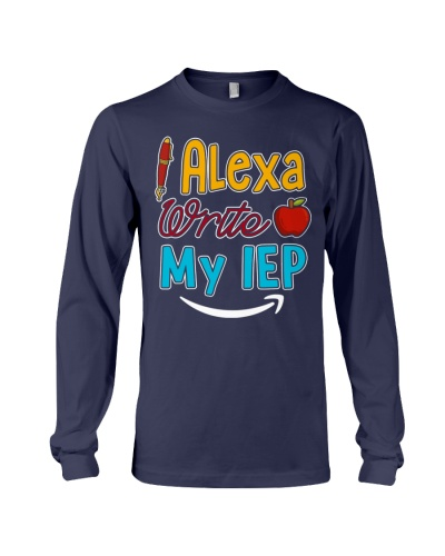 Alexa write my IEP