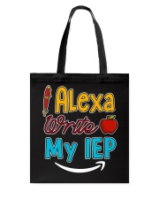 Alexa write my IEP Tote Bag thumbnail