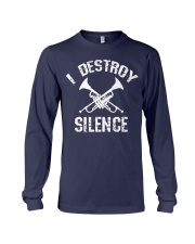 I Destroy silence Long Sleeve Tee thumbnail