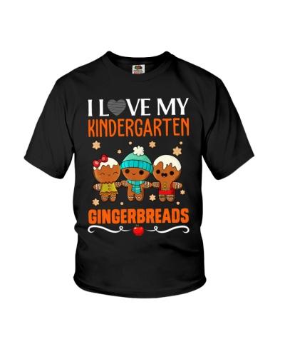 I LOVE MY KINDERGARTEN GRADE GINGERBREADS