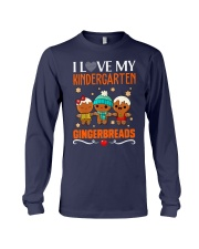I LOVE MY KINDERGARTEN GRADE GINGERBREADS  Long Sleeve Tee thumbnail