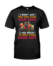 Great Music Great Kids Classic T-Shirt front
