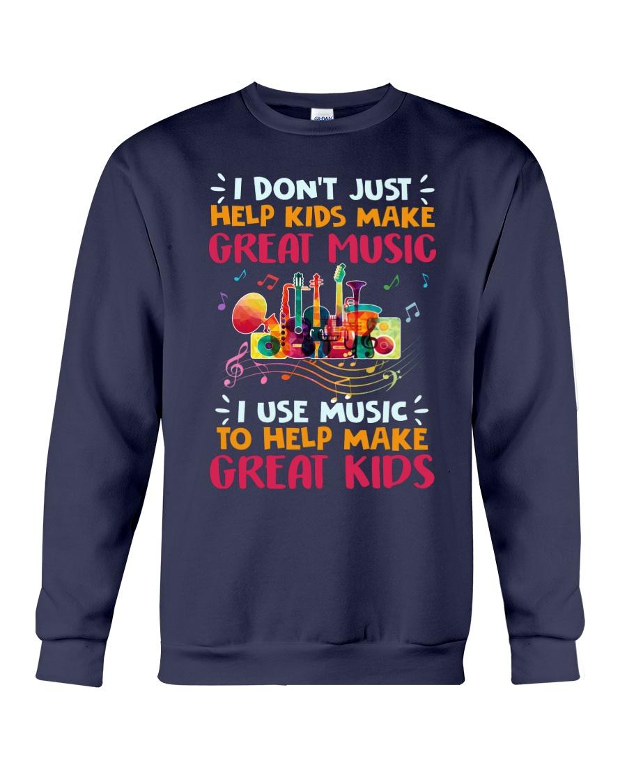 Great Music Great Kids Crewneck Sweatshirt