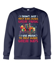Great Music Great Kids Crewneck Sweatshirt thumbnail