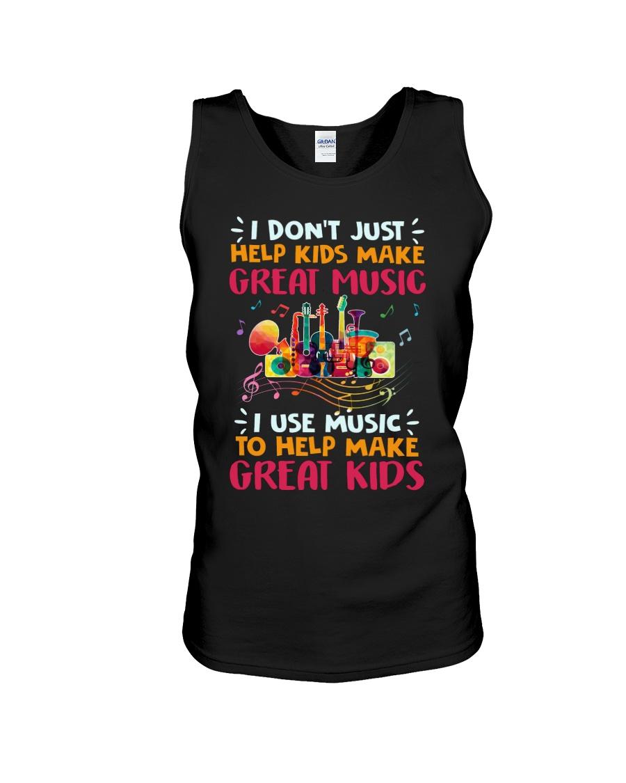 Great Music Great Kids Unisex Tank