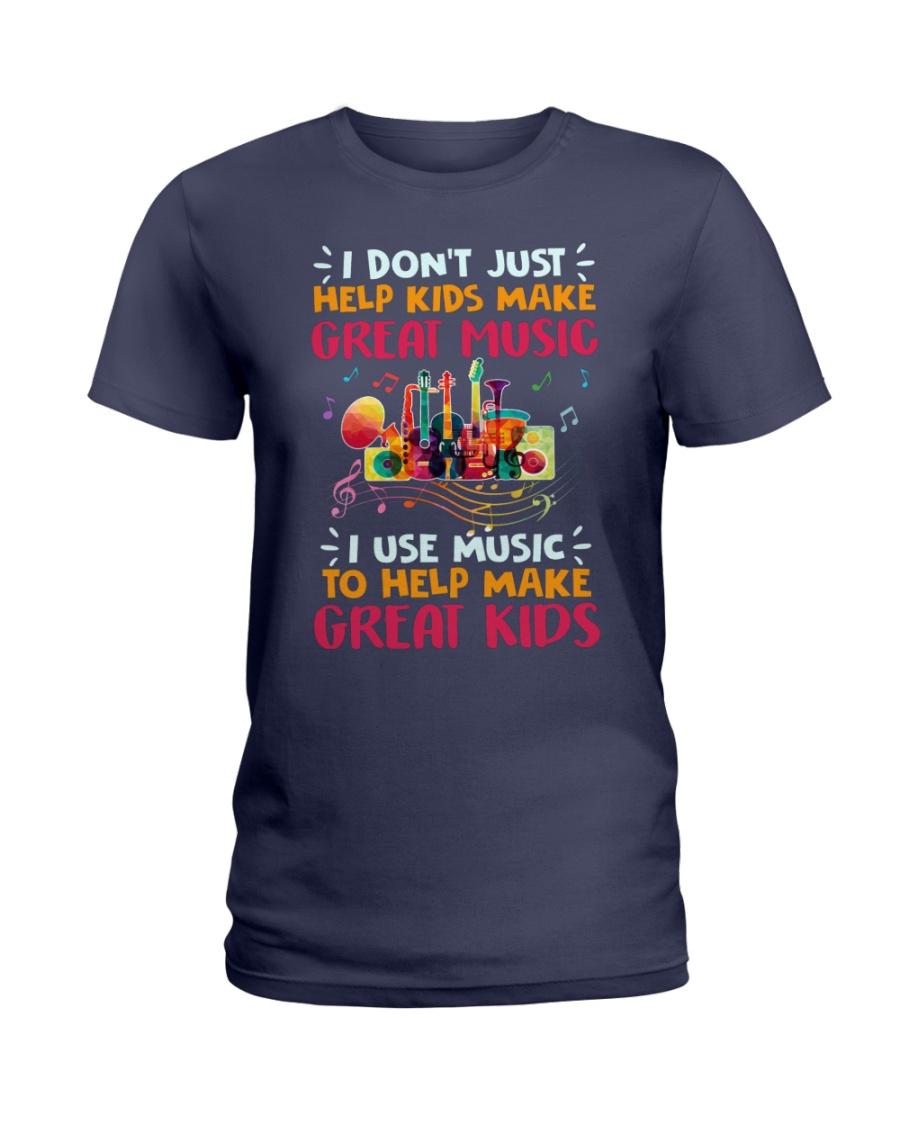 Great Music Great Kids Ladies T-Shirt