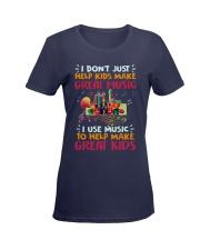 Great Music Great Kids Ladies T-Shirt women-premium-crewneck-shirt-front