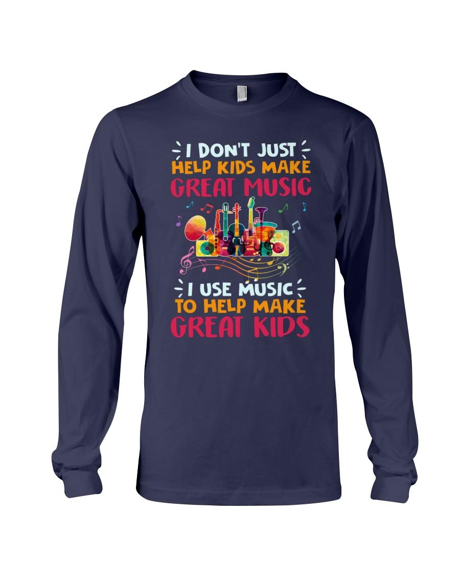 Great Music Great Kids Long Sleeve Tee