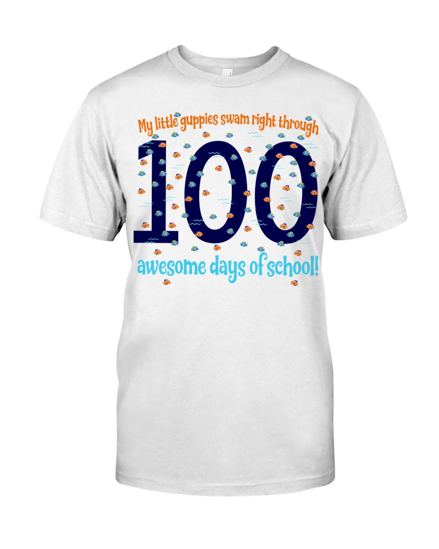 100 AWESOME DAYS OF SCHOOL Classic T-Shirt