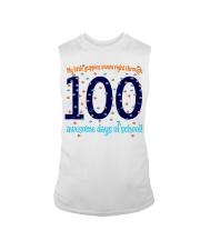 100 AWESOME DAYS OF SCHOOL Sleeveless Tee thumbnail