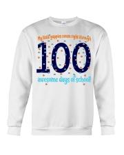 100 AWESOME DAYS OF SCHOOL Crewneck Sweatshirt thumbnail