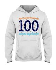 100 AWESOME DAYS OF SCHOOL Hooded Sweatshirt thumbnail