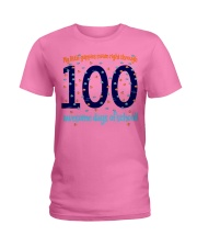 100 AWESOME DAYS OF SCHOOL Ladies T-Shirt thumbnail