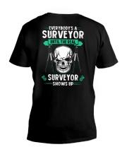 Everybody's A Surveyor V-Neck T-Shirt thumbnail