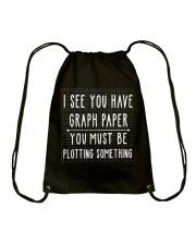 Math Teacher Drawstring Bag thumbnail