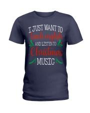 I JUST WANT TO TEACH ENGLISH  Ladies T-Shirt thumbnail