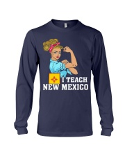 I TEACH NEW MEXICO Long Sleeve Tee tile