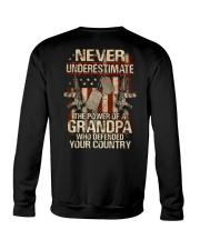 The power of a Grandpa Crewneck Sweatshirt thumbnail