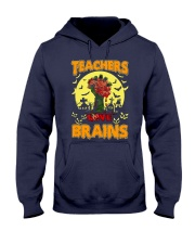 Teachers Love Brains Hooded Sweatshirt thumbnail