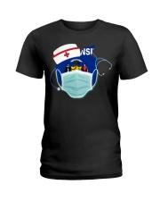 Wisconsin Nurses Ladies T-Shirt thumbnail