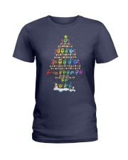 CHRISTMAS TREE Ladies T-Shirt thumbnail