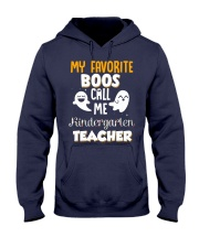 Kindergarten Teacher Halloween Hooded Sweatshirt thumbnail