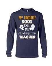 Kindergarten Teacher Halloween Long Sleeve Tee thumbnail